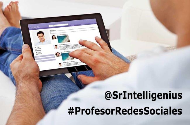 profesor redes sociales